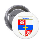 Norris Coat of Arms/Family Crest Pins