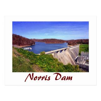 Norris Dam,Tennessee, U.S.A. Postcard
