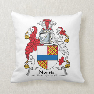 Norris Family Crest Pillow