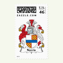 Norris Family Crest Stamps