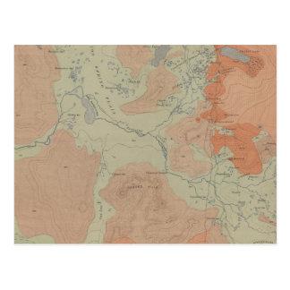 Norris Geyser Basin Postcard