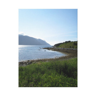 Norris Point Newfoundland Canada - vertical Canvas Print