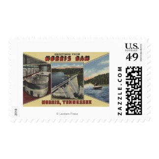 Norris, Tennessee - Greetings From Norris Dam Postage