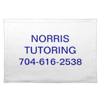 Norris Tutoring Placemats