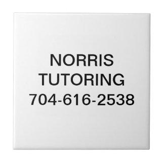 Norris Tutoring Tile