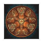 Norse Chieftain's Shield Canvas Print
