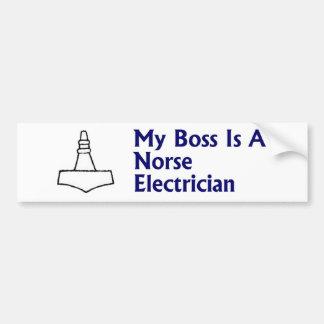 Norse Electrician Bumper Sticker