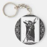 Norse God Odin Keychain