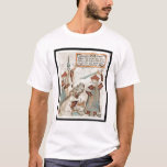 Norse god Tyr losing his hand to the bound wolf T-Shirt