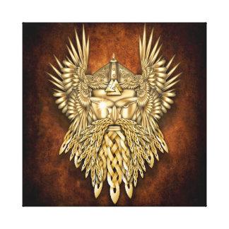 Norse Gods & Goddesses - Odin Canvas Print