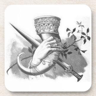 Norse Mythology- Drinking Horn Coasters
