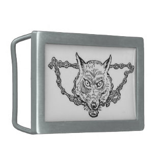 Norse Mythology - Fenrir Belt Buckle