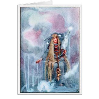 Norse Mythology - Frigga Greeting Cards