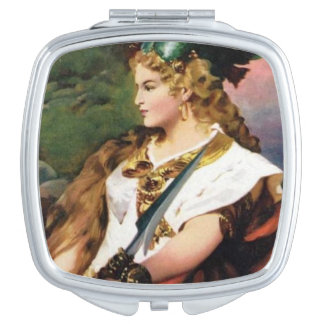Norse Mythology - Valkyrie Compact Mirror