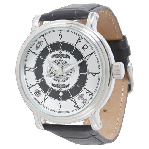 Norse Style Runic Watch…… Wrist Watch