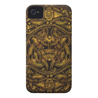 NORSE VINTAGE ART Case-Mate iPhone 4 CASE