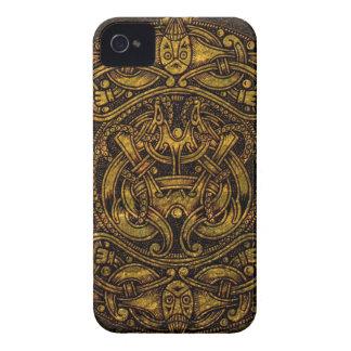 NORSE VINTAGE ART Case-Mate iPhone 4 CASES