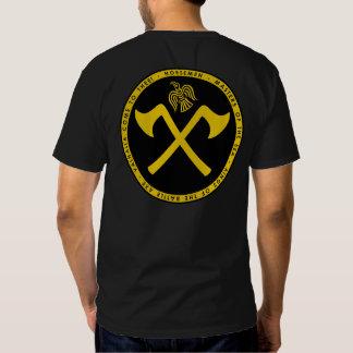 Norsemen - Viking black & gold Crossed Axes Shirt