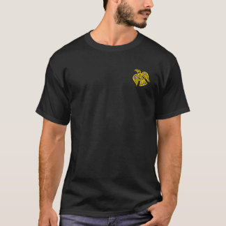 Norsemen - Viking Raven Black and Gold Shirt