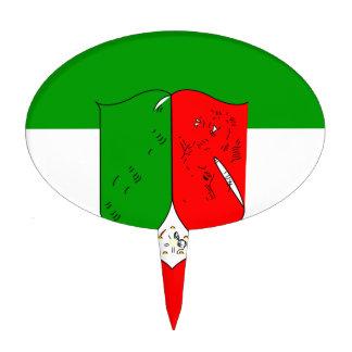 Norte-Bandera Figuras Para Tartas