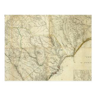 Norte compuesto y Carolina del Sur Tarjeta Postal