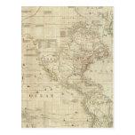 Norte compuesto y Suramérica Tarjeta Postal