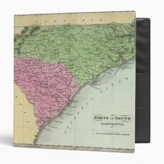 """Norte y Carolina del Sur 2 Carpeta 1 1/2"""""""