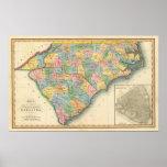 Norte y Carolina del Sur 5 Póster