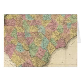 Norte y Carolina del Sur Tarjeta De Felicitación