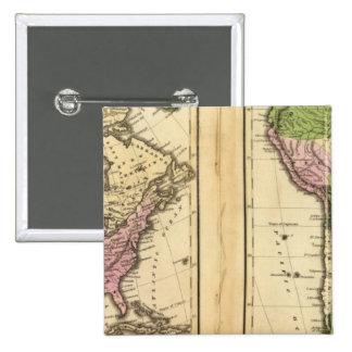 Norte y Suramérica Pin