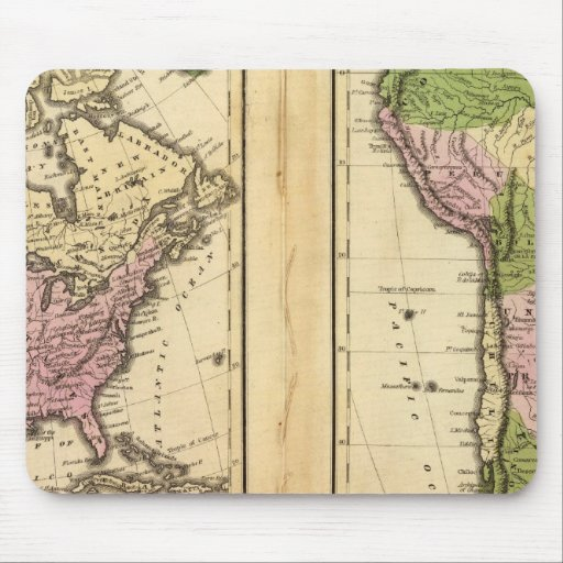 Norte y Suramérica Tapete De Ratones