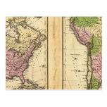 Norte y Suramérica Tarjetas Postales
