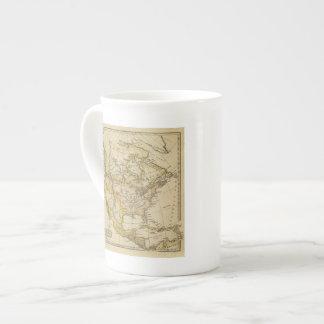 Norteamérica 10 2 taza de porcelana
