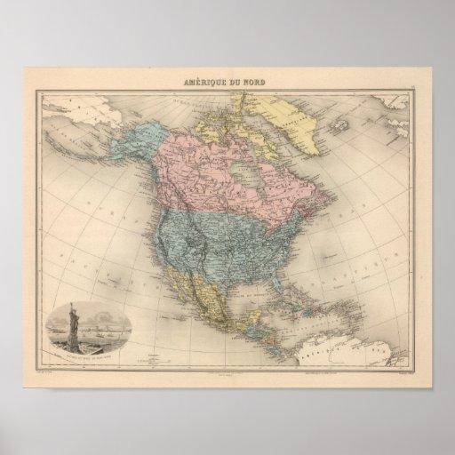 Norteamérica 14 póster