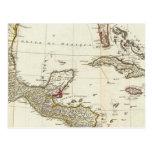 Norteamérica 1763 límites tarjeta postal