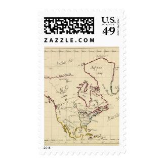 Norteamérica 17 sellos