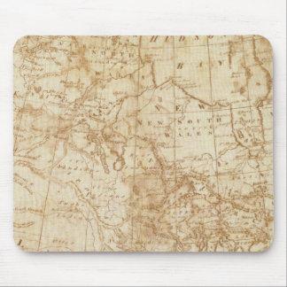 Norteamérica 1804 alfombrilla de ratones