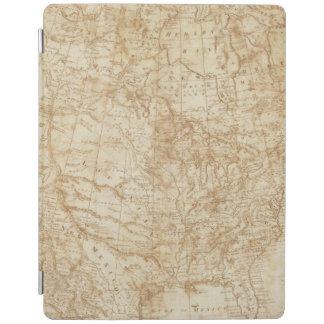 Norteamérica 1804 cubierta de iPad