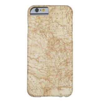 Norteamérica 1804 funda para iPhone 6 barely there