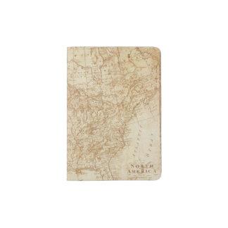 Norteamérica 1804 porta pasaporte