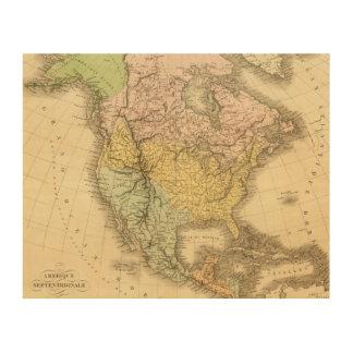 Norteamérica 20 2 impresión en madera