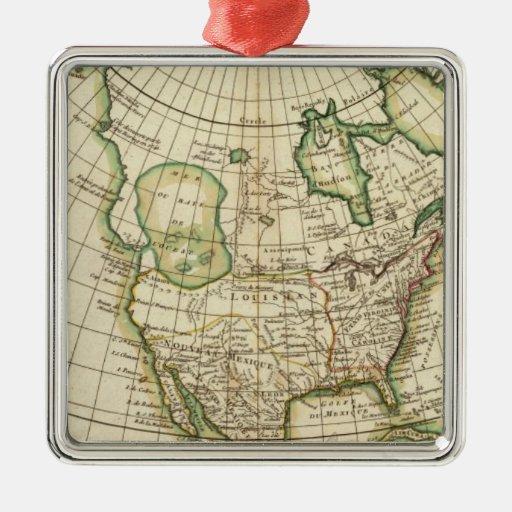 Norteamérica 21 ornamentos de navidad