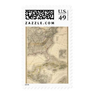 Norteamérica 26 sello