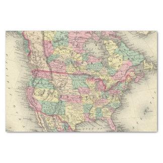 Norteamérica 27 papel de seda pequeño