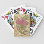 Norteamérica. 2 barajas de cartas