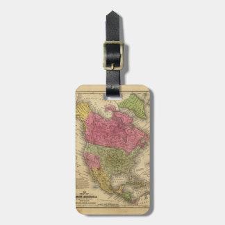 Norteamérica. 2 etiquetas bolsa