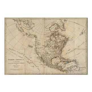 Norteamérica 30 póster