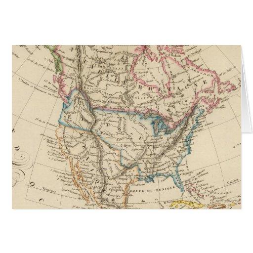 Norteamérica 31 tarjeta de felicitación