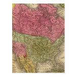 Norteamérica 36 tarjeta postal