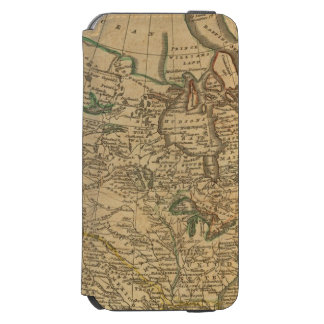 Norteamérica 3 funda cartera para iPhone 6 watson
